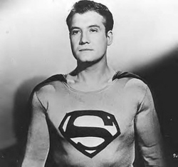 341 best George Reeves (TV Superman) images on Pinterest |Superman Black And White Tv Show